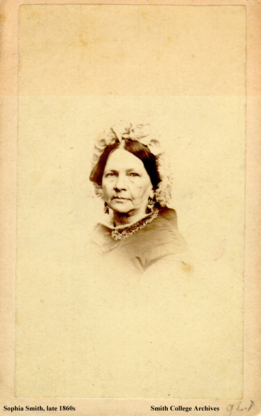 Sophia Smith, late 1860s