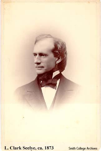 L. Clark Seelye, ca. 1873