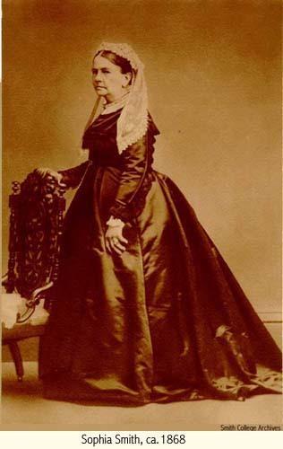 Sophia Smith, ca. 1868