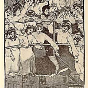 "Margaret Ward, pseud. (Edith Dunton Kellogg, class of 1897) and Eva Nagel, illustrator, Betty Wales, ""Freshman,"" 1909"