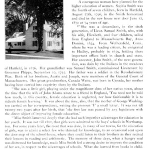 Literature about the Homestead, 1, p.1