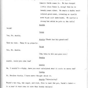 Heritage play, Scene V: All in the Family, p. 2