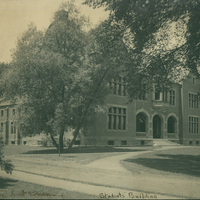 Students Building, Smith College, c1904.
