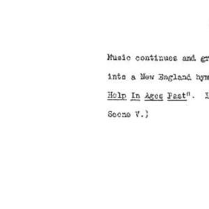Heritage play, Scene VI: Death in New York, p. 5