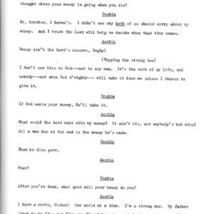 Heritage play, Scene V: All in the Family, p. 4