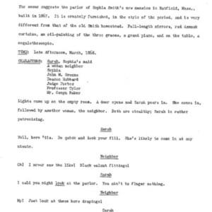 Heritage play, Scene IX: Megalethoscope, p. 1