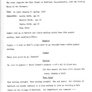Heritage play, Scene II: Legal Status, p. 1
