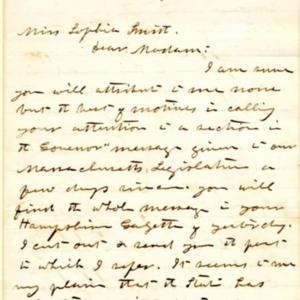 Letter, Jan. 7, 1868,  p.1