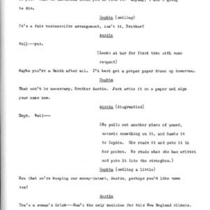 Heritage play, Scene V: All in the Family, p. 6