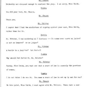 Heritage play, Scene IV: Smith vs. Smith, p. 7