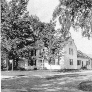 Exterior views of the Smith family homestead, 1