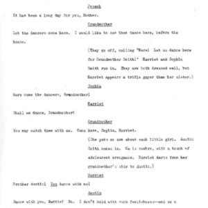 Heritage play, Scene I: Root Seed, p. 2