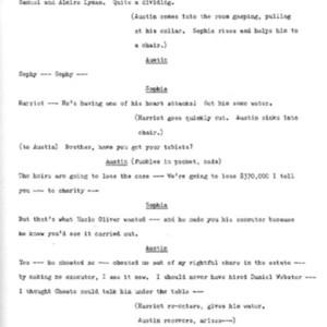Heritage play, Scene IV: Smith vs. Smith, p. 3