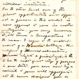 Letter, Jan. 7, 1868,  p.2