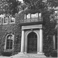 Willliam Allan Neilson Library, summer 1956.
