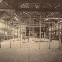 Interior of Alumnae Gymnasium, 1904.