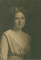 Elizabeth Deering Hanscom, Smith College Professor of English, c1915.