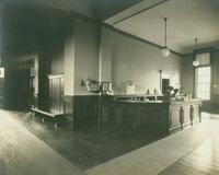 Smith College Library loan desk, c1910.