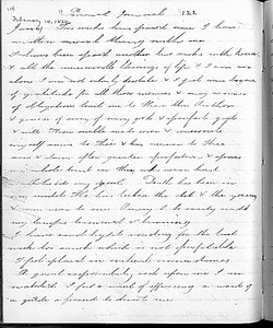 Sophia Smith, journal, 14 February 1864