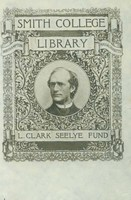 Smith College Library, L. Clark Seelye Fund bookplate, c1899.