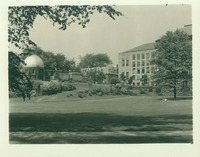 Observatory, Hatfield House, and new wing of Smith College Library, 1937.