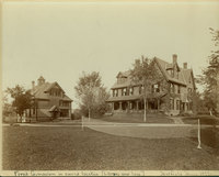The Gymnasium and Hatfield House, c1891.
