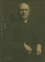 Portrait of L. Clark Seelye, President of Smith College, 1904.