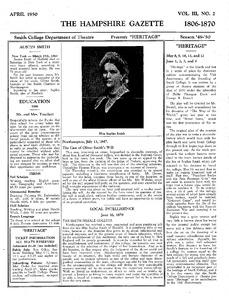 Heritage program 1, p. 1