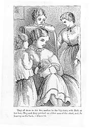 32. LOUISA MAY ALCOTT. Little Women or Meg, Jo, Beth and Amy. Boston: Roberts Brothers, 1870, cover page