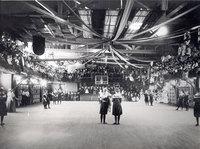 Interclass basketball game, Smith College, 1901.