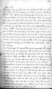 John M. Greene, Journal entry, July 1, 1861, p.1