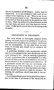 42. W.H. and O.H. MORRISON. Morrisons' Stranger's Guide and Etiquette to Washington City. Washington: W.H. and O.H. Morrison, 1864, p.55