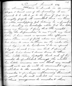 Sophia Smith, journal, June 1865