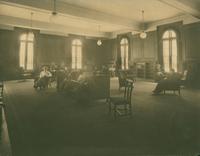 Browsing Room, c1910.