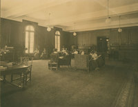 Browsing Room, 1910.