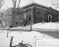 Addition and alteration to Neilson Library, 1 February 1962.