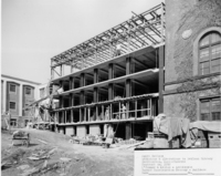 Addition and alteration to Neilson Library, 1961.