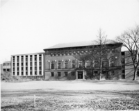 Addition and alteration to Neilson Library, 1962.