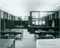 Rare Book Room, Smith College, 15 October 1962.
