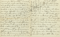 """Josephine Clark, autograph letter signed, dated 7 November 1909, to """"my dear Class-mates""""."""