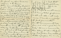 """Josephine Clark, autograph letter signed, dated 30 October 1910, to """"My dear Classmates""""."""