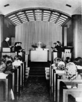 Little Chapel in the Library, c1945.