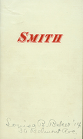 Students' Hand-Book of Smith College, 1910-1911.